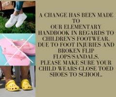 Change to the Elementary Handbook