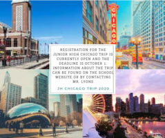 Chicago Trip Registration Now Open