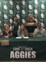Caysie Rinkvist Signs with Siena Heights University